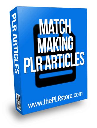 Match making articles