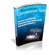 maximumconversionratetacticsbluelarge  Maximum Conversion Rate Tactics PLR eBook maximumconversionratetacticsbluelarge 190x213