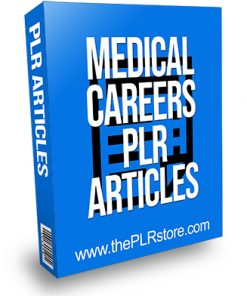 Medical Careers PLR Articles