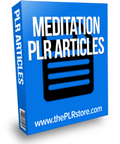 meditation plr articles 2
