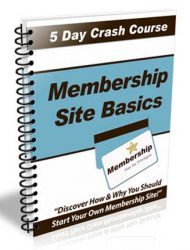 Membership Site Basics PLR Autoresponder Messages