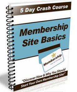 Membership Site Basics PLR Autoresponder Messages
