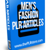mens fashion plr articles
