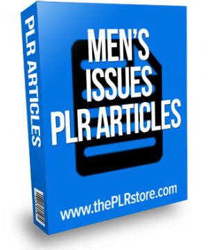 mens issues plr articles