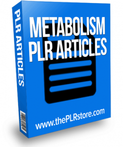 metabolism plr articles