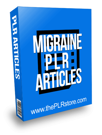 Migraine PLR Articles with Private Label Rights