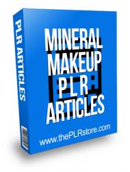 Mineral Makeup PLR Articles