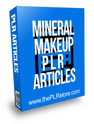 Mineral Makeup PLR Articles