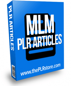 mlm plr articles