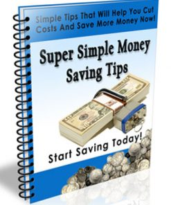 Money Saving Tips PLR Autoresponder Messages