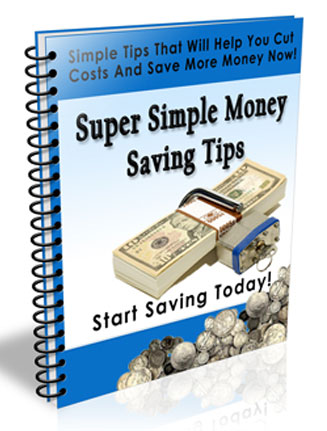 Money Saving Tips PLR Autoresponder Messages