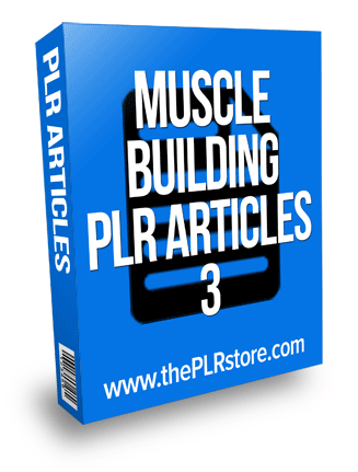 muscle building plr articles