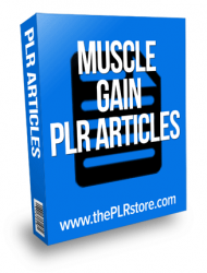 muscle gain plr articles muscle gain plr articles Muscle Gain PLR Articles muscle gain plr articles 190x250