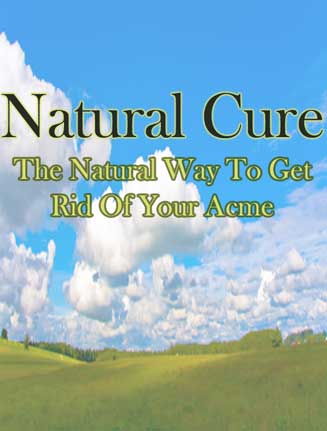 natural cure for acne ebook mrr