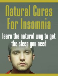 Natural Cures For Insomnia Ebook