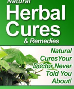 Natural Herbal Cures PLR Ebook