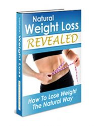 natural weight loss plr ebook