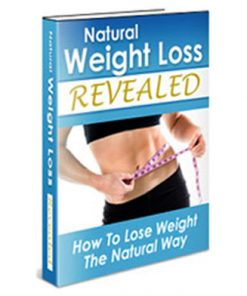 natural weight loss plr ebook
