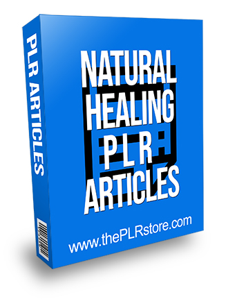 Natural Healing PLR Articles