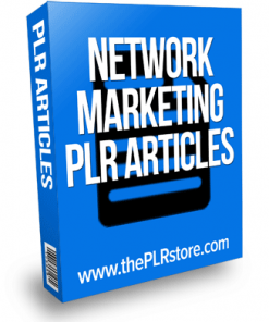 network marketing plr articles