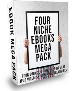 4 Niche Ebooks PLR