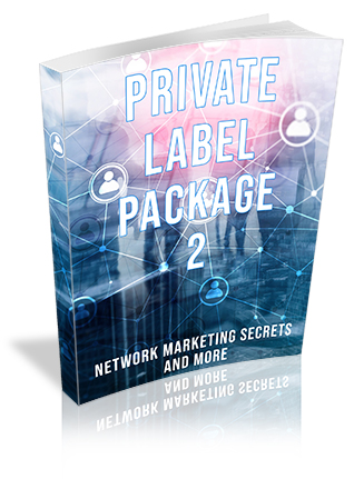 Private Label Package 2 Ebooks