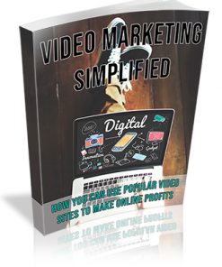 Video Marketing Simplified PLR Ebook