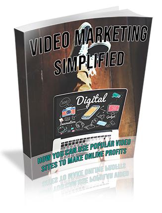 Video Marketing Simplified PLR Ebook