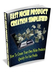 fast niche product creation simplified plr ebook