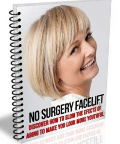 No Surgery Facelift PLR Report