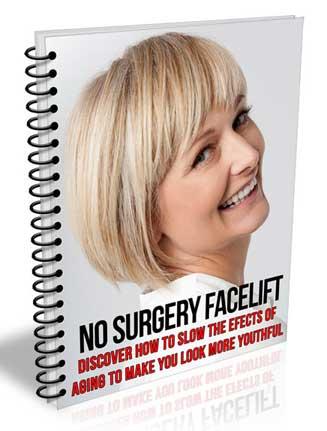 No Surgery Facelift PLR Report