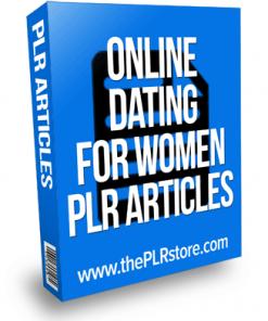 online dating for women plr articles