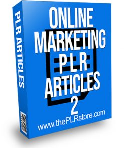 Online Marketing PLR Articles 2