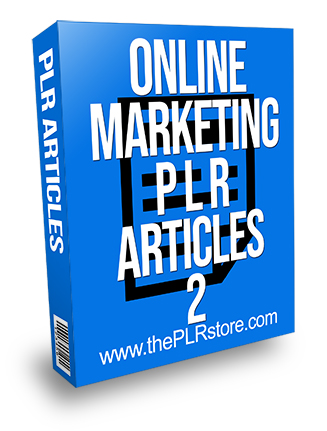 Online Marketing PLR Articles 2