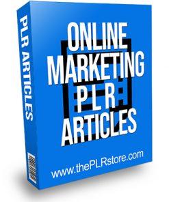 Online Marketing PLR Articles