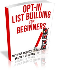 Opt-In List Building for Beginners PLR Ebook