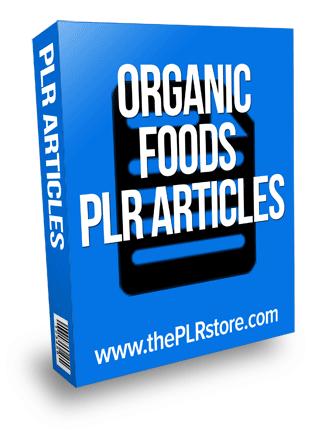 organic foods plr articles organic foods plr articles Organic Foods PLR Articles with Private Label Rights organic foods plr articles