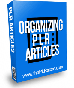 Organizing PLR Articles with Private Label Rights
