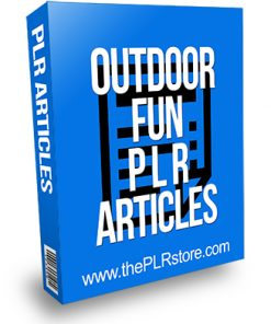 Outdoor Fun PLR Articles