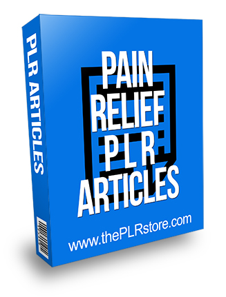 Pain Relief PLR Articles