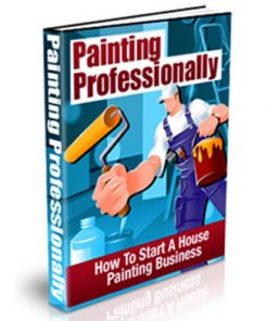 painting professionally plr ebook