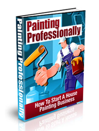 painting professionally plr ebook
