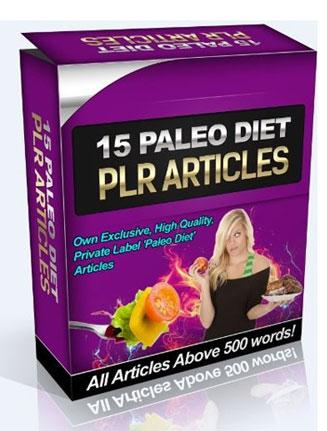paleo diet plr articles