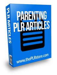 parenting plr articles
