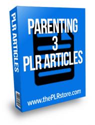 parenting plr articles 3