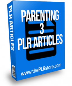 parenting plr articles 3