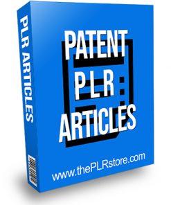 Patent PLR Articles