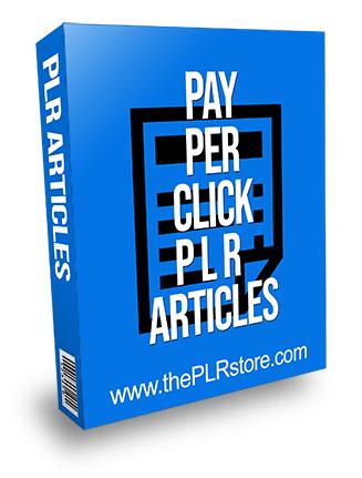Pay Per Click PLR Articles