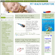 pet-health-store-plr-website-cover  Pet Health Pre-Loaded Amazon PLR Store pet health store plr website cover 190x190