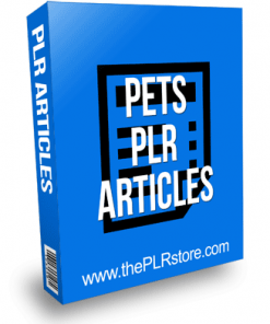Pets PLR Articles with Private Label Rights